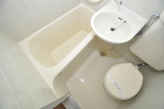 ベルハイム長瀬駅前 ちょうどいいサイズのお風呂です。お掃除も楽にできますよ。