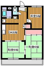 成増駅 徒歩24分4階Fの間取り画像
