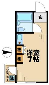 ハウスオブパレ2階Fの間取り画像