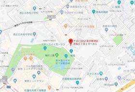 六本木駅 徒歩6分案内図