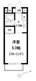 メゾン高田馬場1階Fの間取り画像