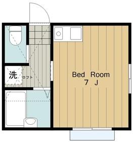 OGAコート1階Fの間取り画像
