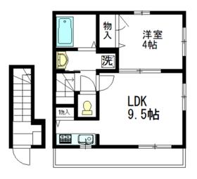 KAGURA1-2階Fの間取り画像