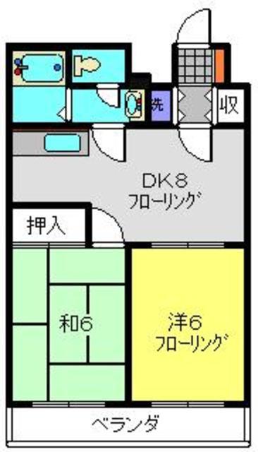 ウィズ妙蓮寺3rd間取図