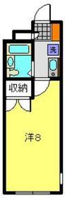 パールハイツ2階Fの間取り画像
