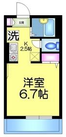 メゾン・ド・ソフィア3階Fの間取り画像