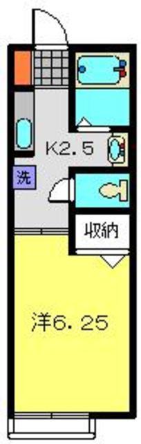 グランメールK間取図