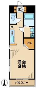TYビルディング5階Fの間取り画像