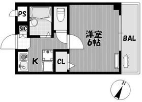 百合ヶ丘駅 徒歩1分3階Fの間取り画像