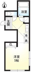 浦賀駅 徒歩9分2階Fの間取り画像