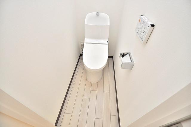 ラ・フォーレ久宝園 スタンダードなトイレは清潔感があって、リラックス出来ます。