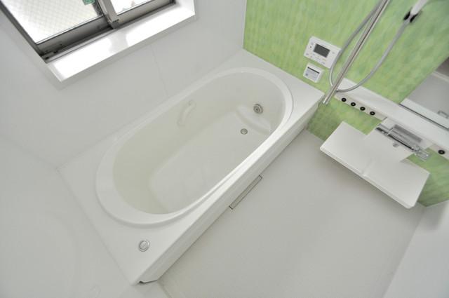 シャーメゾンアマヤハイツ 広めのお風呂は一日の疲れを癒してくれます。ミスト付きです。