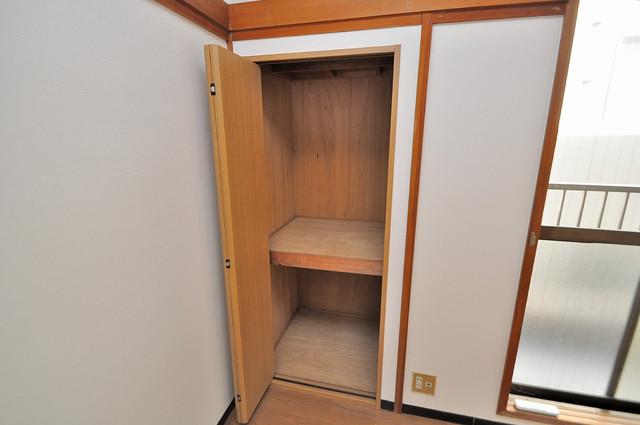 ニッコーハイツ俊徳 もちろん収納スペースも確保。お部屋がスッキリ片付きますね。