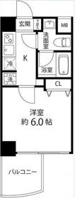 マーレ横浜白金6階Fの間取り画像