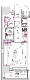 グロース西横浜4階Fの間取り画像
