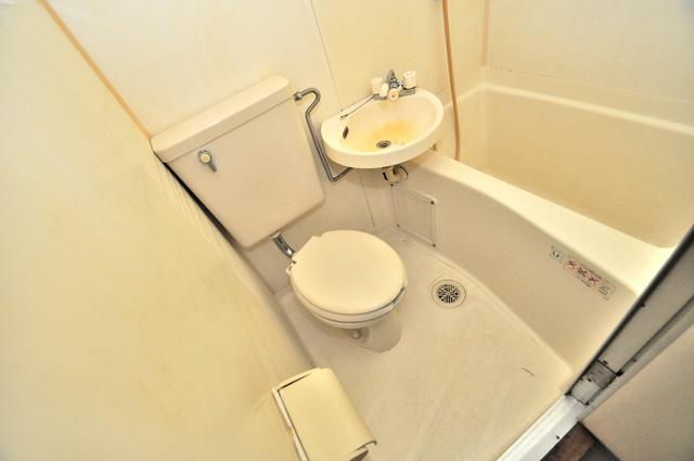 あかねハイツ 清潔感たっぷりのトイレです。入るとホッとする、そんな空間。