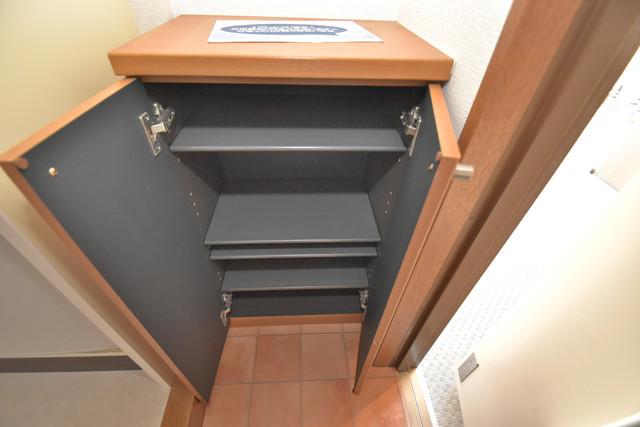 カーサ・デル・ソーレ ゆったりとした玄関。もちろんシューズボックスもあります。