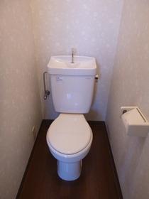 コンセントが有るトイレです。