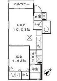井土ヶ谷駅 徒歩13分2階Fの間取り画像