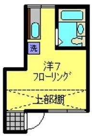 和田町駅 徒歩2分2階Fの間取り画像