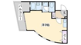 ディアコート・オーガ4階Fの間取り画像