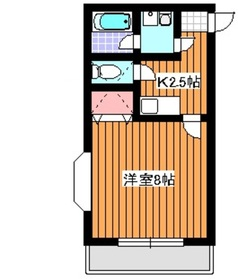 西高島平駅 徒歩17分1階Fの間取り画像