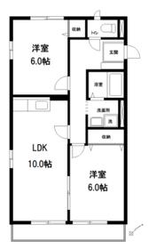 レトア赤塚1階Fの間取り画像