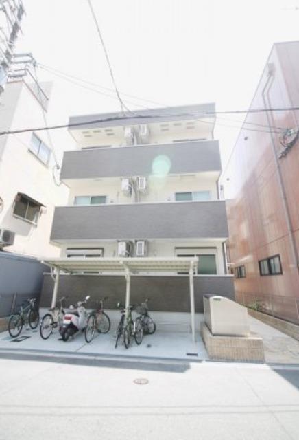 フジパレス城東永田Ⅱ番館の外観