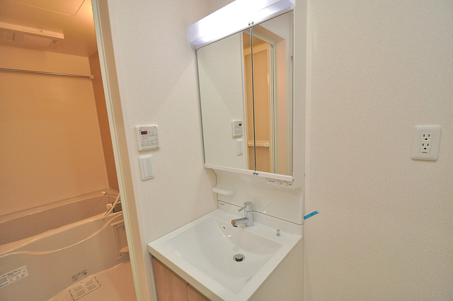フジパレス高井田西Ⅰ番館 人気の独立洗面所はゆったりと余裕のある広さです。