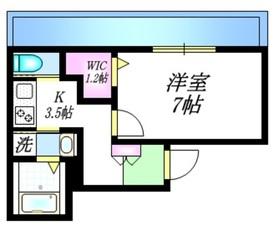 メゾン経堂3階Fの間取り画像