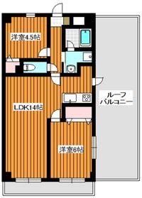 新高島平駅 徒歩19分3階Fの間取り画像