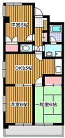 東武練馬駅 徒歩15分2階Fの間取り画像