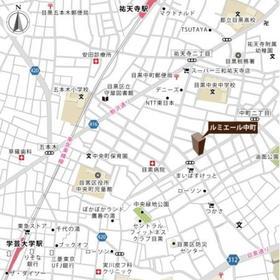 ルミエール中町案内図
