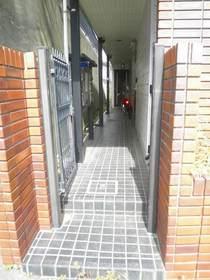 レオパレス21栗田谷第一エントランス