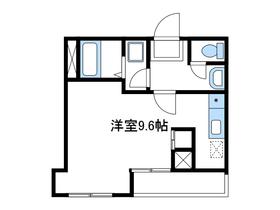 ティーズガーデン小田急相模原5階Fの間取り画像