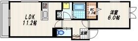 アン ソレイユ2階Fの間取り画像
