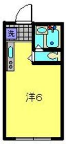 西横浜駅 徒歩10分2階Fの間取り画像