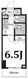 レジディア大島2階Fの間取り画像