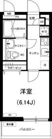 リブリ・カシオペア2階Fの間取り画像