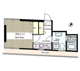 パティオみづほ文京東大前3階Fの間取り画像