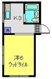 パークサイドハウス2階Fの間取り画像