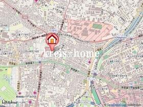 AXAS四谷3丁目案内図