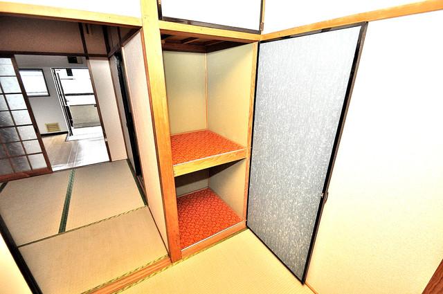 ロイヤルハイツ八戸ノ里 コンパクトながら収納スペースもちゃんとありますよ。