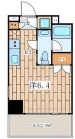 Premium Residence Kawasaki9階Fの間取り画像