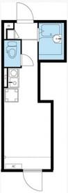 リブリ・ブリュネーゼ1階Fの間取り画像