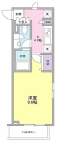 ZX minami-Otsuka1階Fの間取り画像
