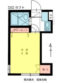 プラムガーデン1階Fの間取り画像