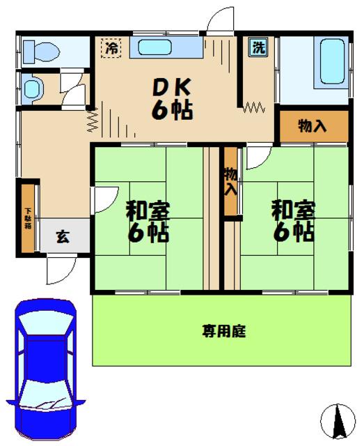 坂倉邸間取図