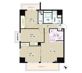 メゾン・ラポール3階Fの間取り画像