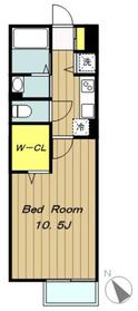 グランドコート2階Fの間取り画像